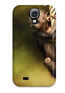 For Galaxy S4 Premium pc Case Cover Monkey Protective Case