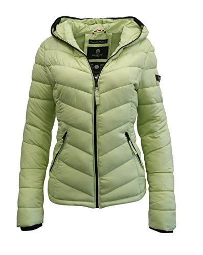 Marikoo - Chaqueta - chaqueta guateada - para mujer Verde