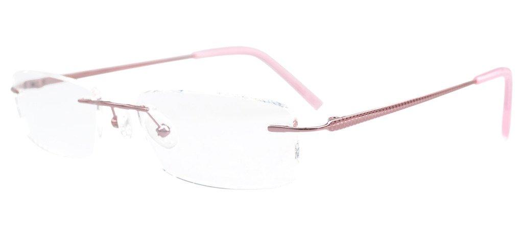 Eyekepper Rimless Titanium Optical Eyeglasses Frame Half-eye Style