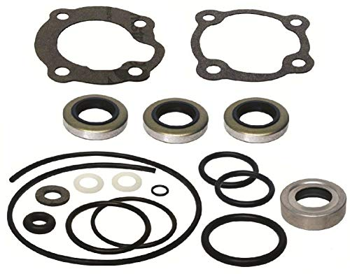 GLM Lower Unit Gearcase Seal Kit for Johnson Evinrude 25 Hp Outboard 1979-82 Replaces 18-2685