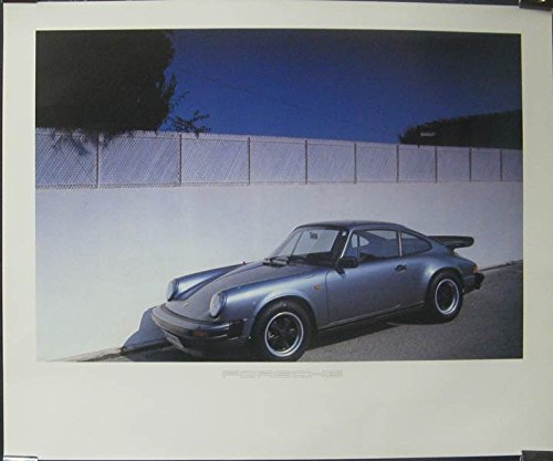 1984 Porsche 911 930 Turbo Showroom Poster