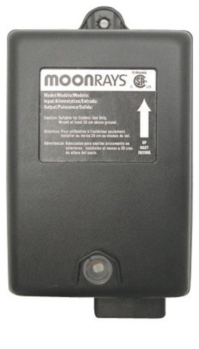 Moonrays 95511 Outdoor Garden and Path Light System Control Unit Power Pack, for Low Voltage Garden Lamp Setup, 88-Watt ()