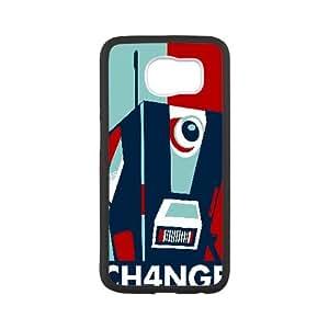 Claptrap Borderlands Vector Samsung Galaxy S6 Cell Phone Case Black yyfabc_005900
