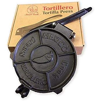 Amazon.com: Victoria TOR-003 Cast Iron Tortilla Press, 8