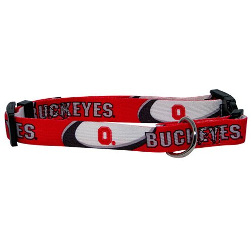 Hunter MFG Ohio State Buckeyes Dog Collar, Extra Small