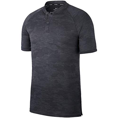 Nike Golf TW Tiger Woods Vapor Zonal Cooling Camo Polo 932390 (Large, Anthracite)