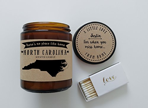 north-carolina-scented-candle-missing-home-homesick-gift-moving-gift-new-home-no-place-like-home-sta