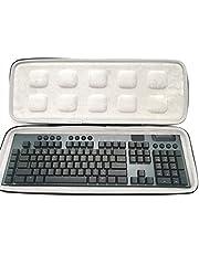 IRYNA Mode draagbare harde case voor logitech G913/G913 TKLWireless Bluetooth-compatibel Toetsenbord Reizen Thuiskantoor, Alleen Case