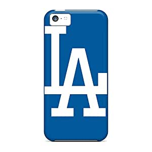 Durable Hard Cell-phone Cases For Iphone 5c With Unique Design Trendy Los Angeles Dodgers Skin AlissaDubois