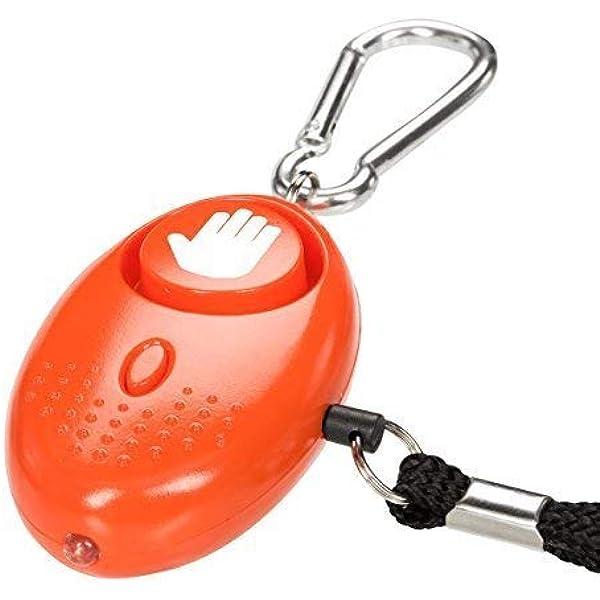 tiiwee Alarma Personal - 130dB Alarma de Pánico con la protección de antorcha – Seguridad contra violaciones - Defensa Personal: Amazon.es: Bricolaje y herramientas