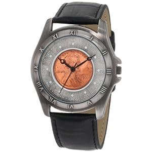 August Steiner, reloj de hombre, penique de cobre antiguo