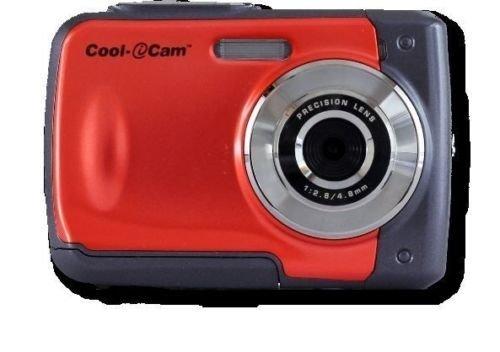"""ION Cool-iCam 8MP S1000 Waterproof Digital Camera 2.4"""" Scree"""