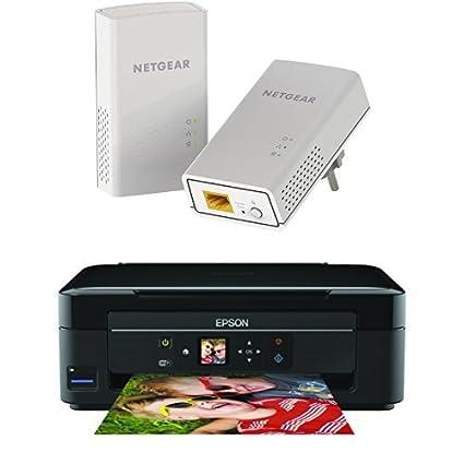 Netgear PL1200-100PES - Kit de adaptadores PowerLine (1200 Mbps, 1 ...