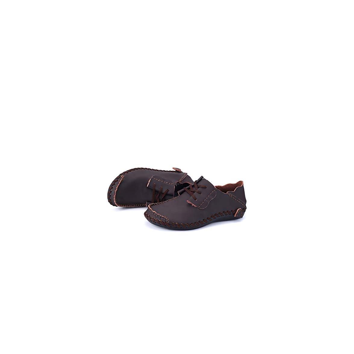 Pelle Scarpa Da Libero Traspirante Piselli Uomo Tempo In Scarpe Gpf-fei Mocassini Rotonda Colore 40 Puro Moda Punta Pigro gray