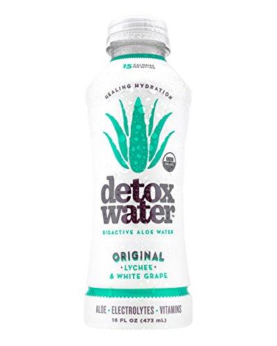 - detoxwater Original (Lychee & White Grape) 16 fl. oz. / 12 Pack