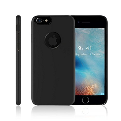Case for iPhone 8, Case for iPhone 7, Cipo Slim Dual Layer Scratch Resistant Shockproof Hard Cover Protection with Corner Cushion Design and Fit Clip Black