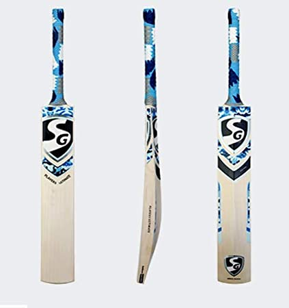 Amazon.com : SG Player Ultimate English Willow Cricket Bat 100% Original Available in Size SH : Sports & Outdoors