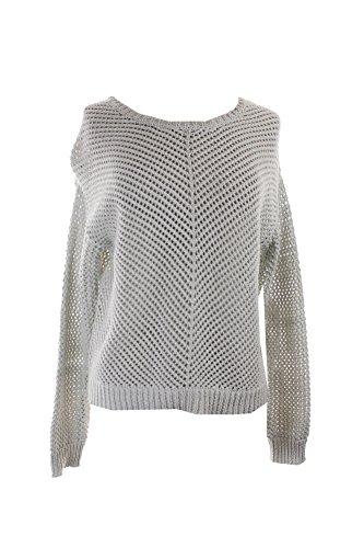 Rachel Rachel Roy Grey Open-Knit Pullover Sweater M (Rachel Roy Clothing compare prices)