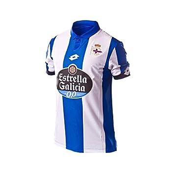 Camiseta RC Deportivo de la Coruña Home 2016-2017 Royal-White Talla XXL: Amazon.es: Deportes y aire libre