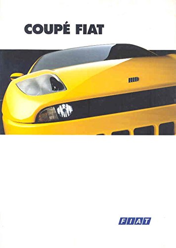1995 Fiat Coupe 2000 16v & Turbo Brochure Dutch