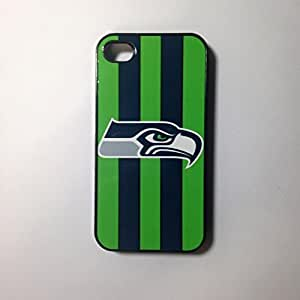 Seattle Seahawks iPhone 4/4s Case White