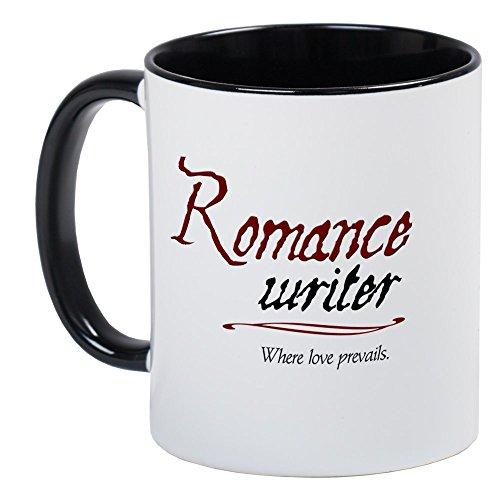 CafePress Romance Writer-Where Love Pre Mug Unique Coffee Mug, Coffee Cup