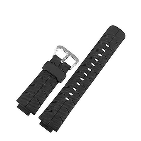 Meijunter Natural Resin Watch Band for Casio G-Shock G-300-2A/3A/4A G-301BR-1A G-306X-1A (The Hundreds G Shock)