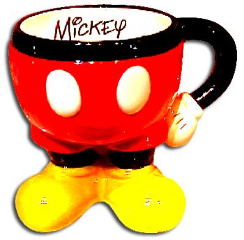 Park Mickey Mouse (Disney Parks Best of Mickey Mouse Icon Body Signature Coffee Mug)