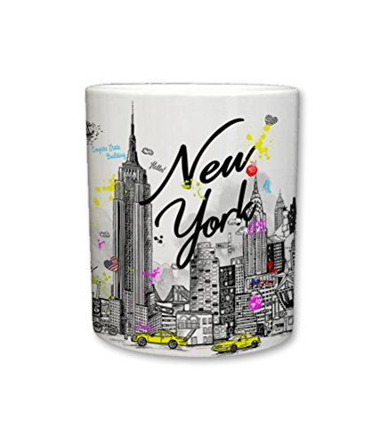 Sweet Gisele Customized New York Inspired Coffee Mug - 11 Fluid Ounces