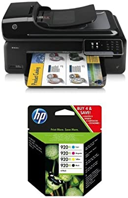 HP Officejet 7500 A Pack - Impresora multifunción de tinta + Pack ...