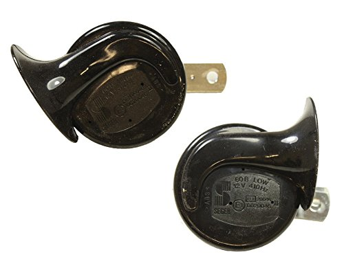- Land Rover Discovery 1 & 2 Horn Assembly HIGH & Low Note Part: YEB500040 & YEB500060