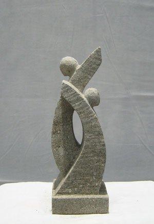 Moderne Gartenfigur 30 Cm Neu Skulptur Aus Natur Sandstein Amazon