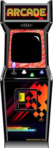 Denison Harbor Life Size Arcade Machine Poster Sticker -Play Games (See All pics) Video Game Posters