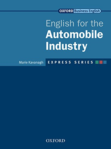 English For The Automobile Industry Pdf
