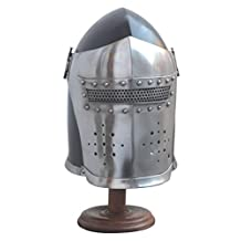 Medieval Barbute Helme Armour Helmet Roman knight helmets Armor Helmet Greek Barbute