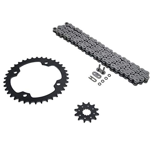 2009-2013 Yamaha YFZ450 450 O Ring Chain & Sprocket Black 12/38 96L