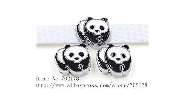 Laliva Accessories SL470-10 colgantes de 8 mm con diseño de panda ...