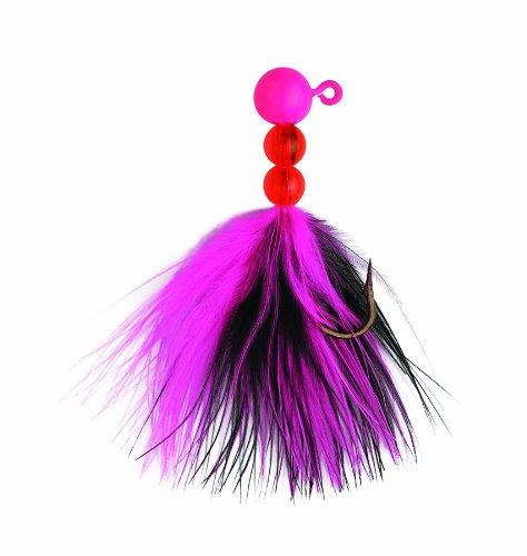 Eagle Claw ECSSJ14-013 Salmon/Steelhead Jig, Pink/Black (Jig Steelhead Fishing)