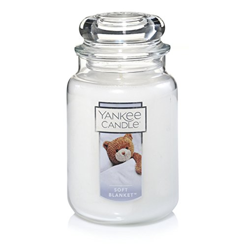 Yankee Candle Large Jar Candle, Soft Blanket