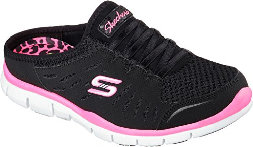 Gratis Limiti Fashion Black white Nero Sneaker no Skechers vqdytwEE