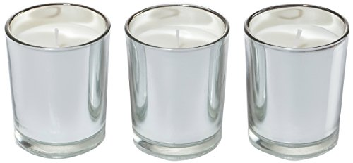 (Ritzenhoff Aroma Naturals Luxury Scented Candle (Set of 3, Glass Black, Grey, 5x 5x 6cm 3Units)