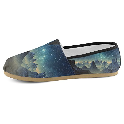 On Flats Canvas Fashion 2 InterestPrint Womens Loafers Classic Multi Slip Casual Shoes Sneakers v6Yqv