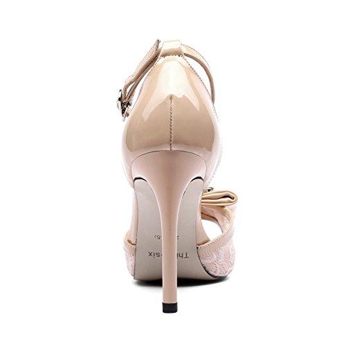 De Altos Apricot Del Tacones Tacón Alto Plataforma Trabajo Mujer Vestido Nvxie Sandalias Boda Verano Fiesta Zapatos OAHYqPwnZ