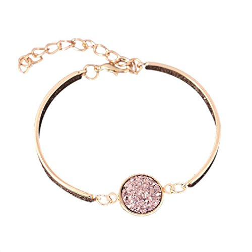 UPC 655346059894, Muranba Women's Crystal Style Cluster Fashion Color Sanding Bracelet (D)