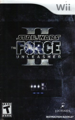 Star Wars - The Force Unleashed II Wii Instruction Booklet (Nintendo Wii Manual Only - NO GAME) [Pamphlet only - NO GAME INCLUDED] Nintendo (Nintendo Wii Manual) (Star Wars Force Unleashed 2 Wii)