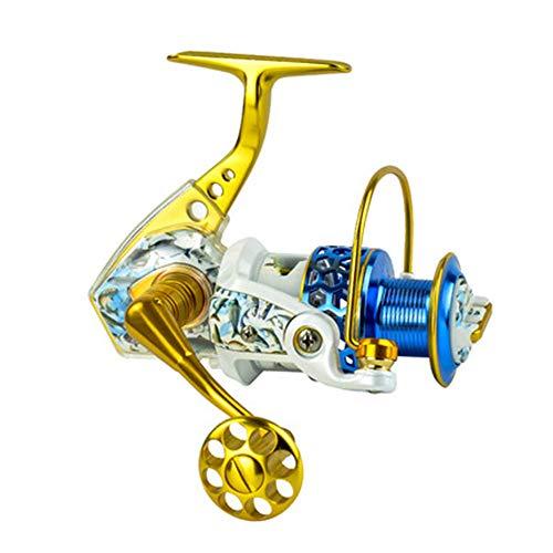 XBTECH Carrete Giratorio con 15 rodamientos, Potente Carrete de Pesca, Pesca Exterior, Brazo Izquierdo/Derecho Intercambiable, Adecuado para la Pesca en el mar,3000 por XBTECH
