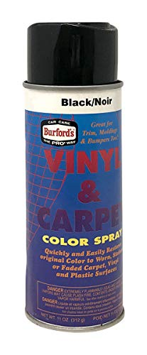 PRO Car Beauty Products AEROSOL Carpet DYE - Black