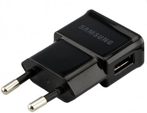 Samsung Chargeur d'origine ETA0U81EBE 2 en 1 en noir pour
