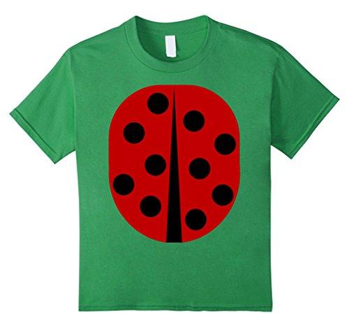 Ladybug Ideas Costume (Kids Lady Bug - Easy Halloween Costume Idea - Tee Shirt 8)