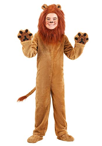 Child Deluxe Lion Costume Small -